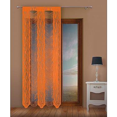 Кисея нитяная штора Jga, оранжевый, 100*250 см