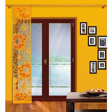Японская штора №112А, оранжевый