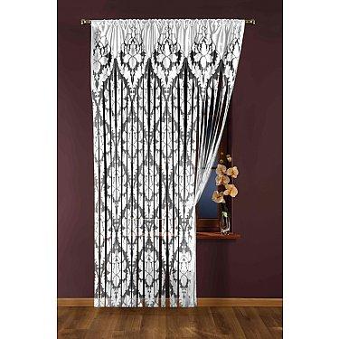 Кисея нитяная штора Wisan 425А, белый, 150*250 см